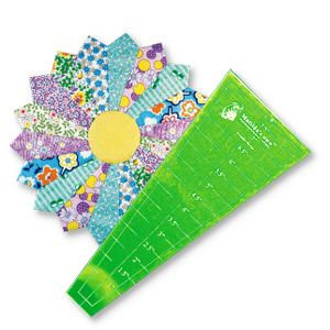 16 piece Dresden plate ruler