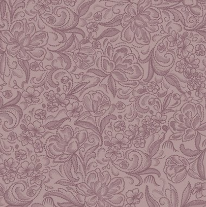 Calla Plum wide back quilting fabric by Victorian Textiles