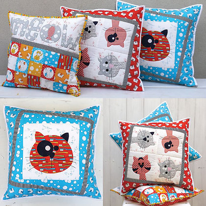 Claire Turpin Designs Kitty Cats Pattern