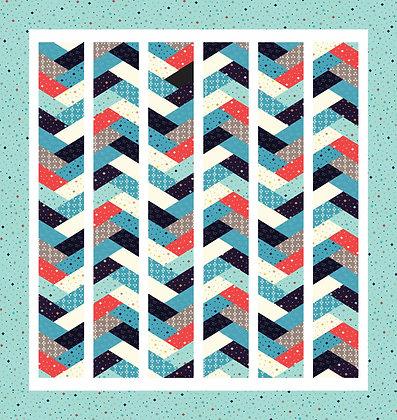 desert blooms braid quilt pattern