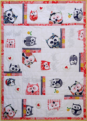 Claire Turpin Designs Family of Owls Quilt Pattern