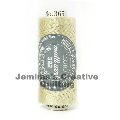 Cosmo Multi Work Embroidery Floss #365 322-365