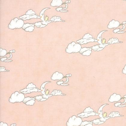 Hushabye Hollow Sweet Cheeks Clouds 49012-19B Lydia Nelson Moda Fabrics