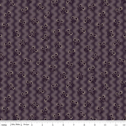 civil war times mourning grey and purple c4395