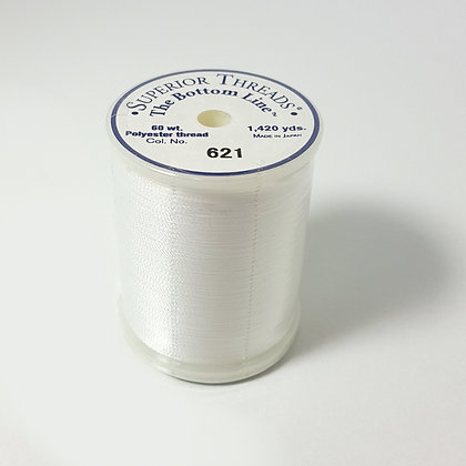 The Bottom Line Thread 621 Lace White