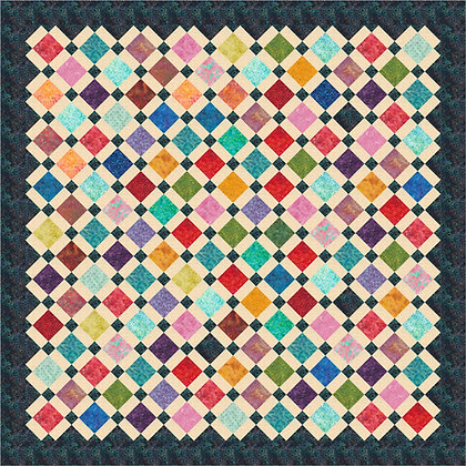 Charming Points Quilt PDF Pattern