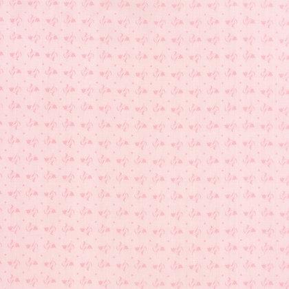 Moda Fabrics Bunny Hill fabric Kindred Spirits hearts pink 2895-20
