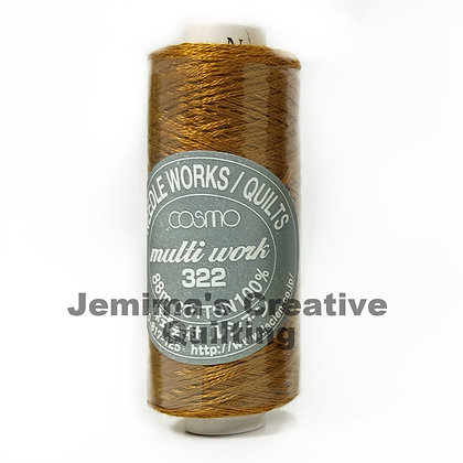 Cosmo Multi Work Embroidery Floss #706 322-706