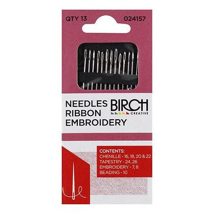 Birch Ribbon Embroidery Needles