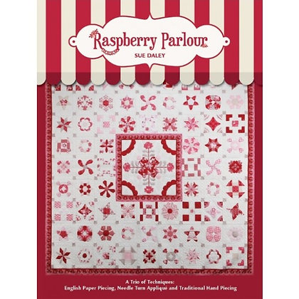 Raspberry Parlour Book and Papers Pack sue daley designs