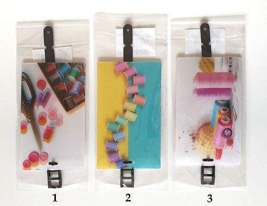 Hologram Sewing Luggage Tag