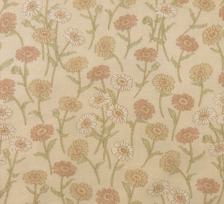 Lecien Fabrics Marigolds Kate Greenaway 3675E