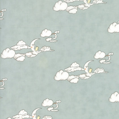 Hushabye Hollow Breeze Clouds 49012-15B Lydia Nelson Moda Fabrics