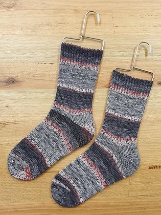Hand Made Socks Imprim Prune socks please socks by shirl