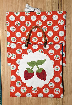 Strawberry Project Case and Block Holder Pattern