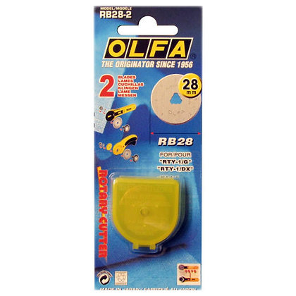 Olfa 28mm Rotary Cutter Straight Blade