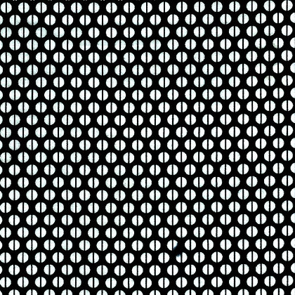 Ella Blue Fabrics Spots Black and White 4001BK