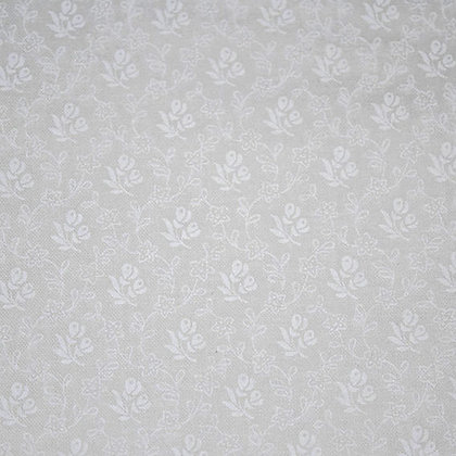 Tone on Tone Flowers and Vines White GL6502-21113
