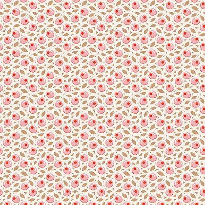 The Bird Pond Collection Tone Finnanger Tiny Plum Peach 100096 Tilda Fabrics