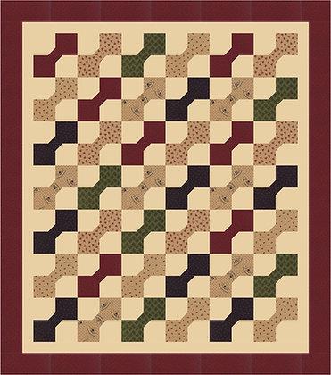 pre-cut Bow Tie quilt pattern