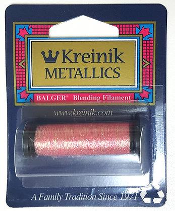 Kreinik Metallics Blending Filament Pink