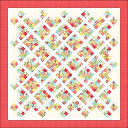 jelly roll quilt pattern summerfest moda