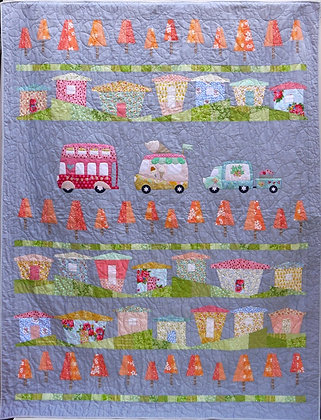 Houses Pick and Mix Quilt Pattern