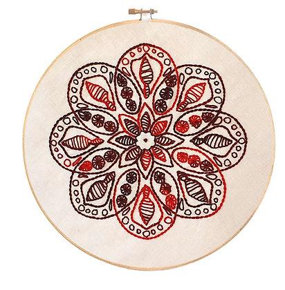 Mandala 11 Stitchery Pattern