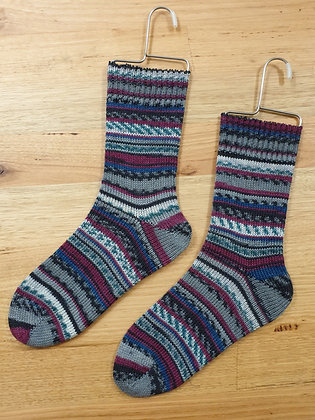 Hand Made Socks Afrika Grey socks please socks by shirl