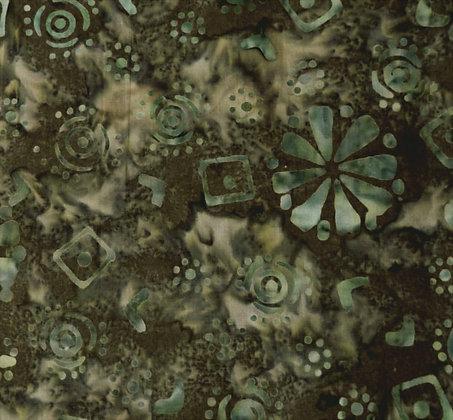 Moda Batik Green 110-cfc Australia Melbourne Fabric
