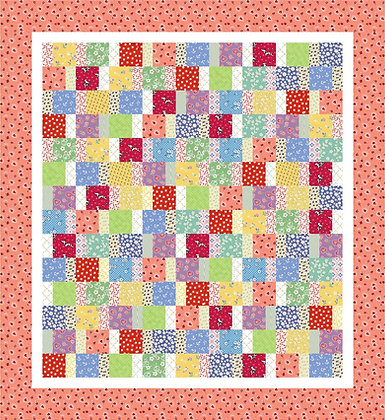Colourful Charm Quilt Pattern