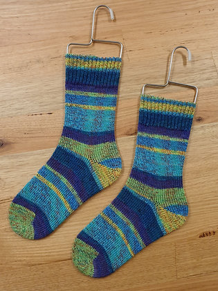 Hand Made Socks Live water socks please socks by shirl