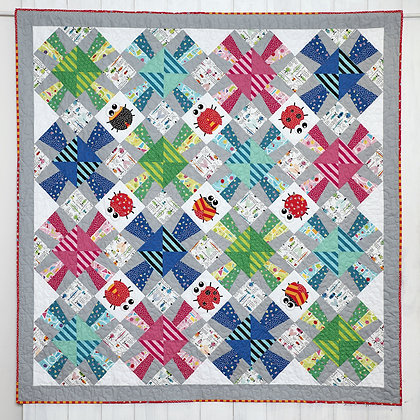 Claire Turpin Splash Pick and Mix Quilt Pattern
