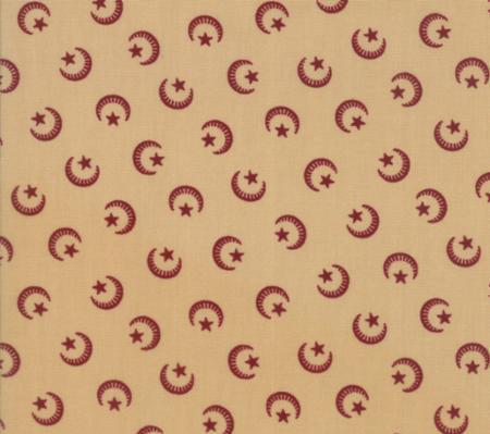 Liberty Gatherings Primitive Gatherings Time Worn Moons Moda Fabrics 1200-16