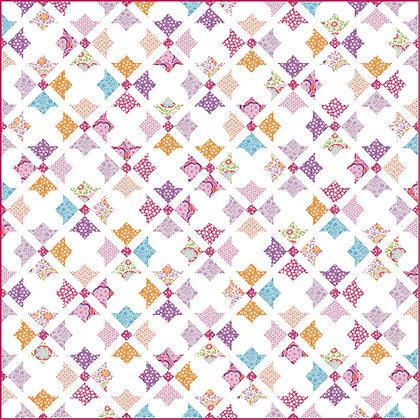 quilt kit Tilda Birdpond fabrics