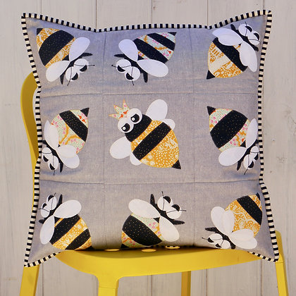 Claire Turpin Queen Bee Quick Cut Applique Kit