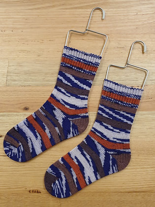 Hand Made Socks Imprim Terre socks please sock by shirl