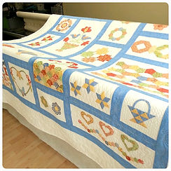 long arm machine quilting