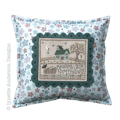 Autumn Cushion Stitchery Pattern