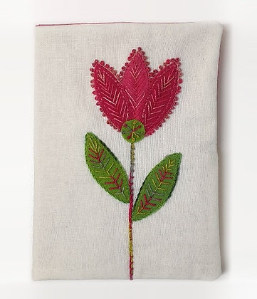 Wool Flower Needle Case and Pin Cushion Pattern
