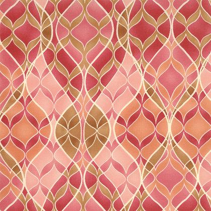 Boutique Pink Geometric Chez Moi16044-21  Moda Fabrics