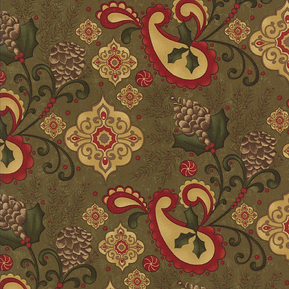 Moda Fabrics Pine Fresh Sandy Gervais 17771-13