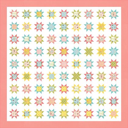 Sweet Stars Quilt PDF Pattern