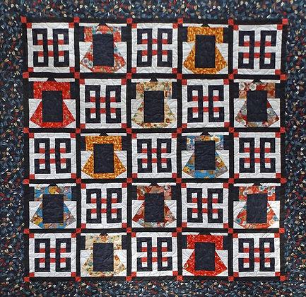 Japanese Kimono Quilt Pattern