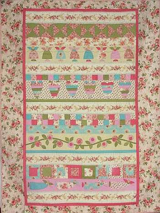 Angels & Blooms Quilt Pattern
