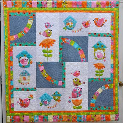 Claire Turpin BirdSong 2 Quilt Pattern