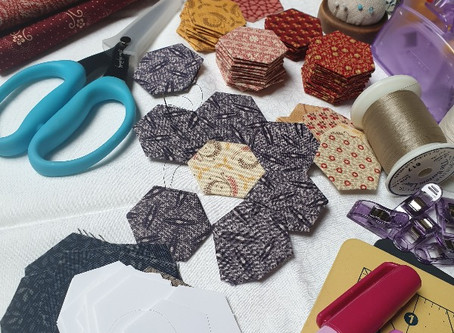 Free Mystery Hexagon Quilt