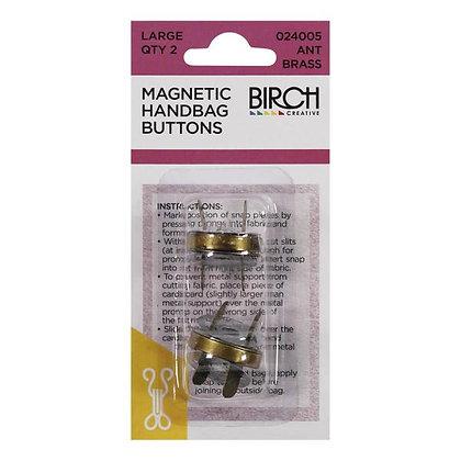 Birch Magnetic Handbag Buttons