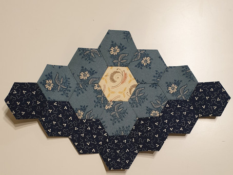 Free Mystery Hexagon Quilt Part 3