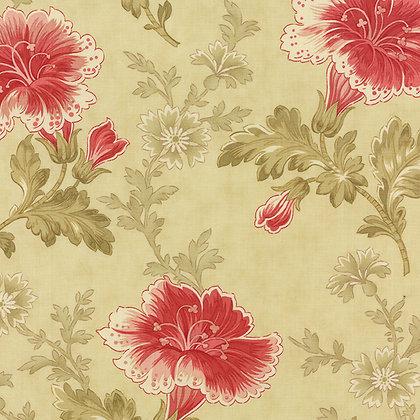 Autumn Lily blackbird designs 2740-11 moda fabrics cream